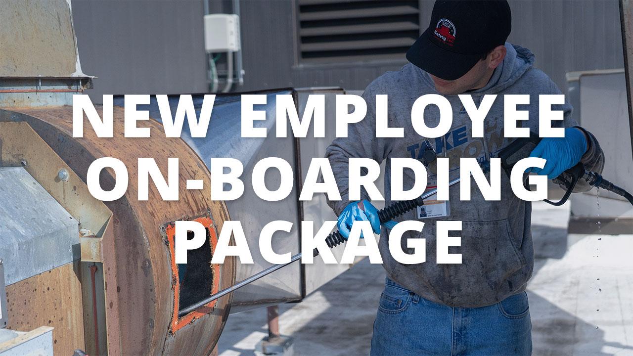 New Employee On-Boarding Package